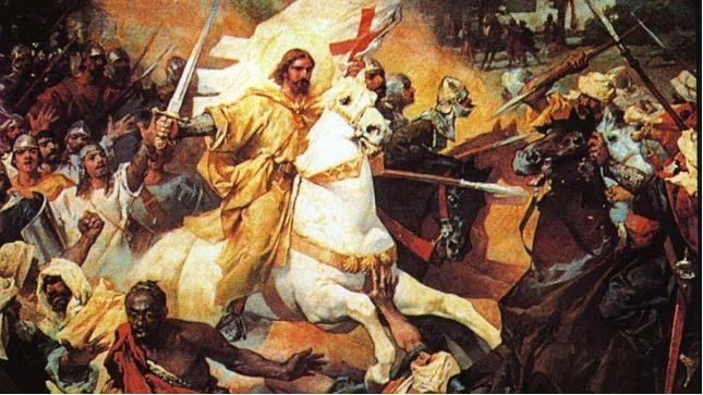 batalla de Clavijo - Curiosidades de la Historia