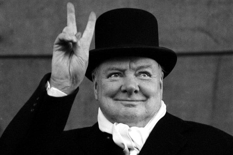 Churchill V de la victoria