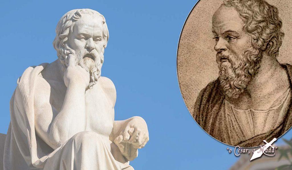 Socrates filósofo que no sabía ni leer ni escribir