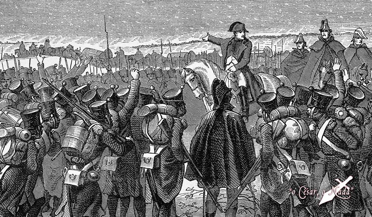 campaña de los cien dias napoleon