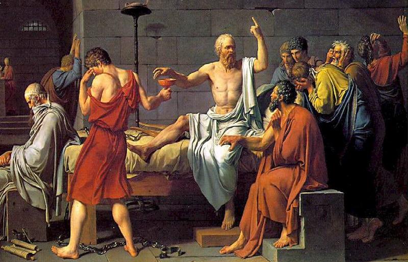 Muerte de Socrates