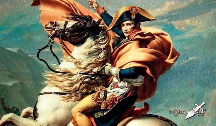 cuadro napoleon cruzando los alpes