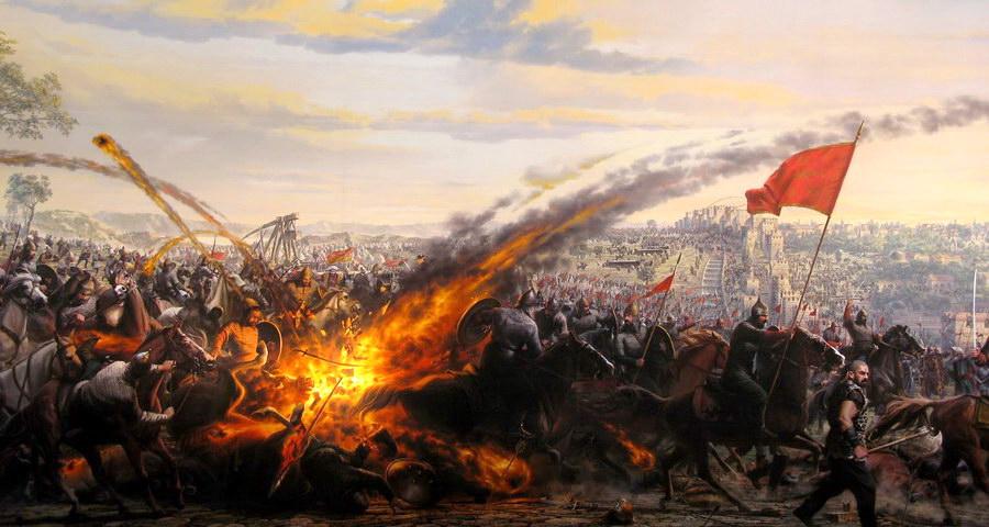 Fuego Griego - Curiosidades de la Historia