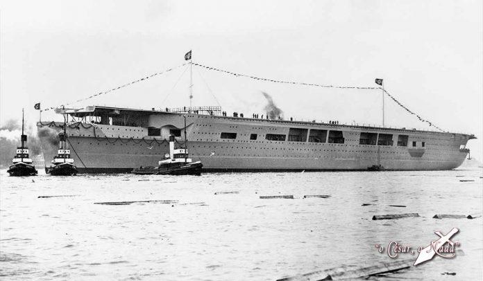 Portaaviones nazi Graf Zeppelin