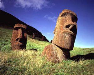 Escultura Moai