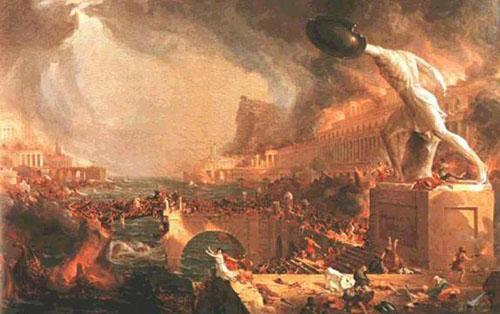 Nerón y el incendio Roma