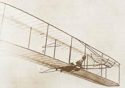 primer vuelo con motor de la historia
