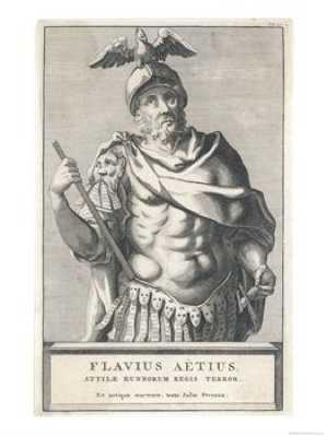 Magister Militum Flavio Aecio - Curiosidades de la Historia