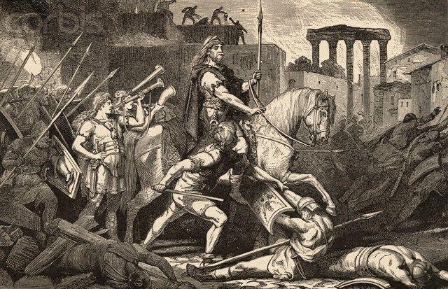 Odoacro y el final del imperio romano