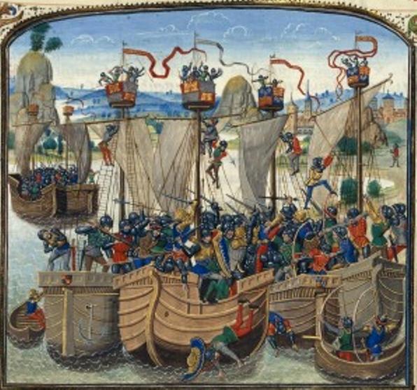 La batalla de la Rochelle