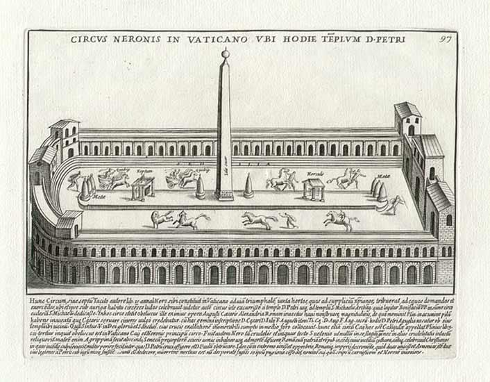 el obelisco de la plaza de San Pedro del Vaticano