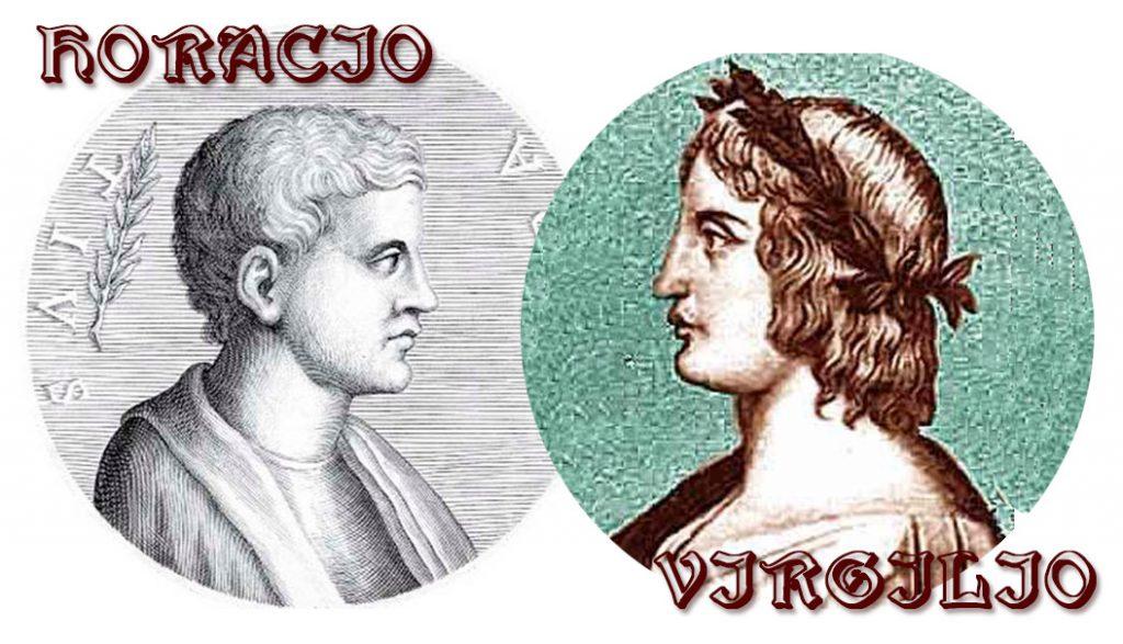 mecenas Virgilio Horacio