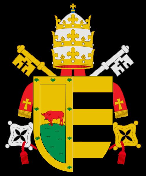 Escudo de Rodrigo de Borgia, Alejandro VI - Curiosidades de la Historia