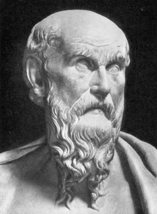 Poeta Hesíodo, siglo VIII a. C.