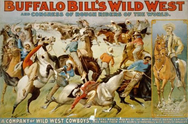 Se trata de William Frederick Cody, nacido en Estados Unidos en 1845, soldado, cazador y hombre del espectáculo, que pasó a la historia como 'Buffalo Bill' por su destreza como cazador de bisontes.