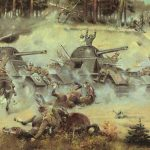 Carga de la caballeria polaca contra los Panzer