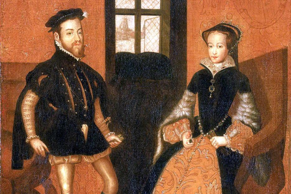 Las razones de lla Reina María de Inglaterra sobre Felipe II - Curiosidades de la Historia