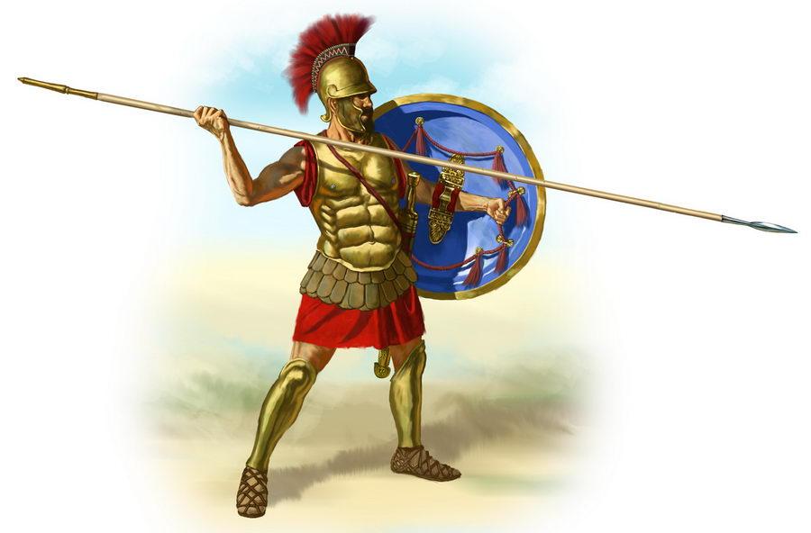 Hoplitas griegos, la infantería invencible