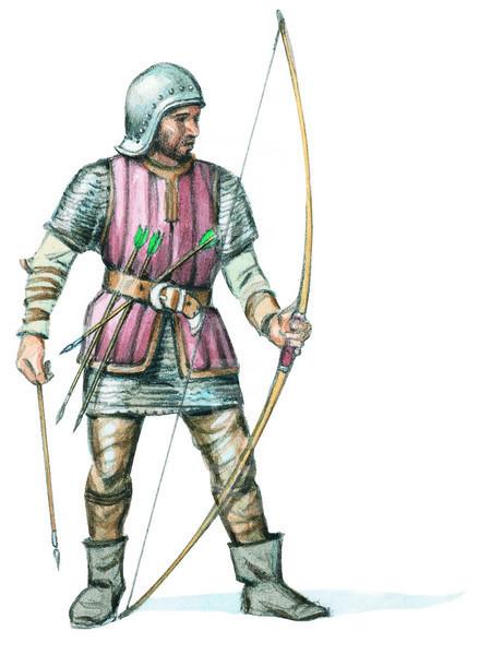Arqueros ingleses - Curiosidades de la Historia