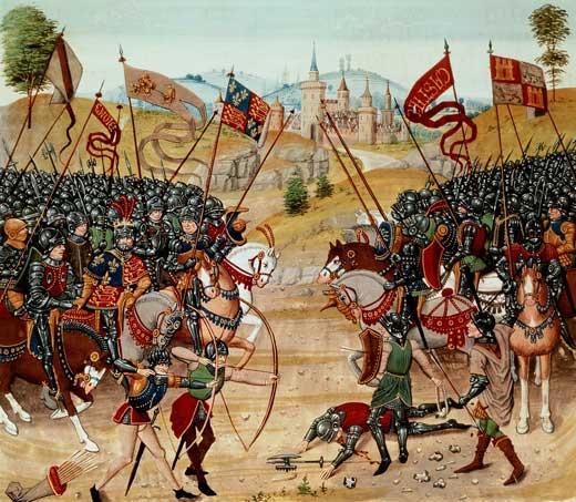 La guerra de los dos Pedros - Curiosidades de la Historia