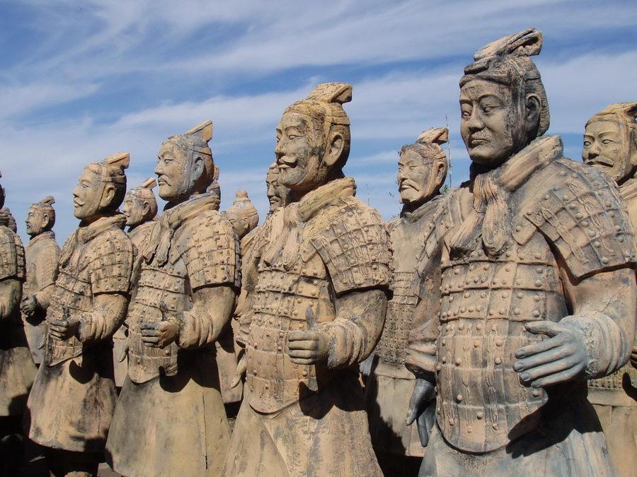 Ejercito de Terracota, Xiam.- Curiosidades de la Historia