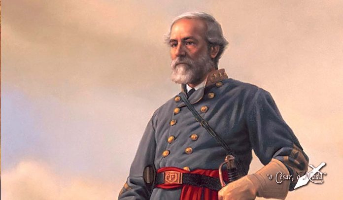 La despedida de Robert E. Lee