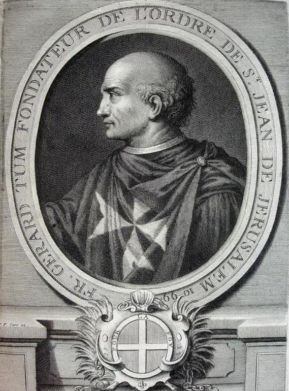 fundador de la Orden de Malta - Curiosidades de la Historia
