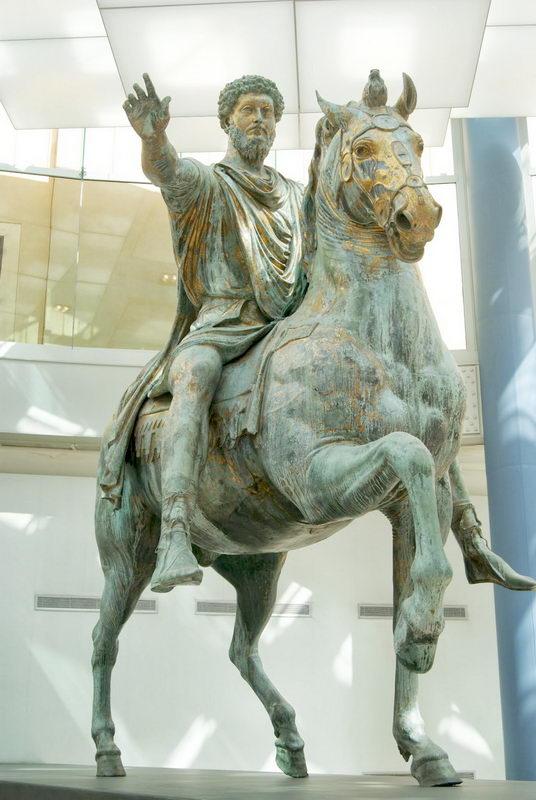Marco Aurelio emperadores buenos