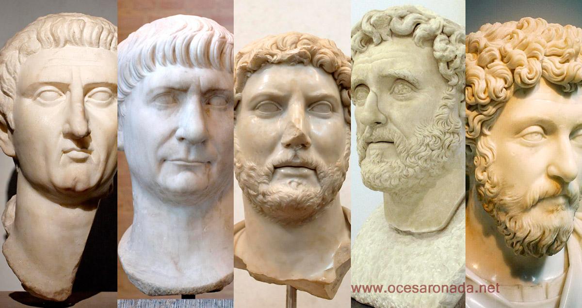 Los Cinco Emperadores Buenos del Imperio Romano - Curiosidades de la Historia