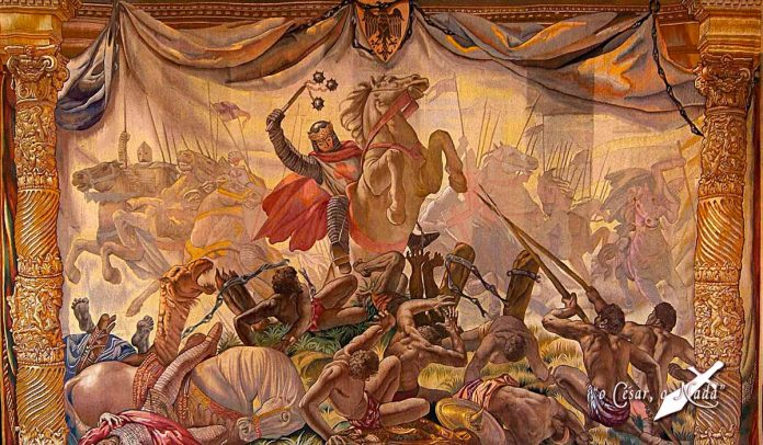 Las Navas de Tolosa y la carga de los tres reyes