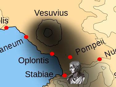 Plinio el viejo ante la erupcion del vesubio - Curiosidades de la Historia