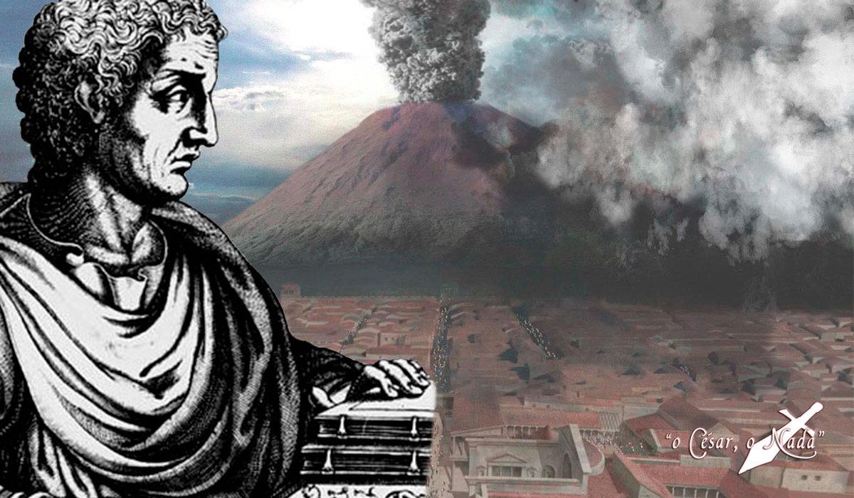 Plinio el viejo y el vesubio - Curiosidades de la Historia