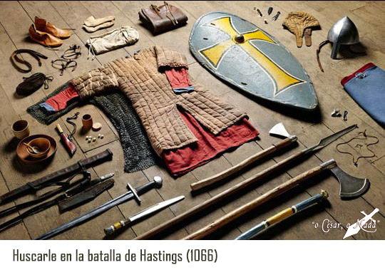Vetimenta huscarles batalla de Hastings - Curiosidades de la Historia