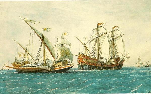 Galeon y Galeaza - curiosidades de la Historia