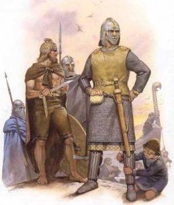 Guerreros sajones y normandos - Curiosidades de la Historia