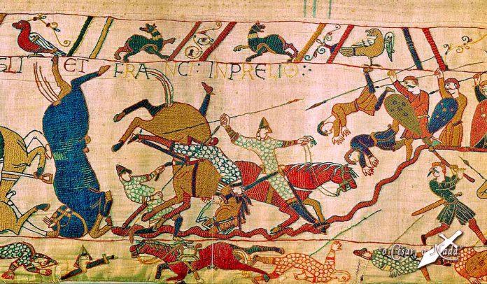 sajones y normandos