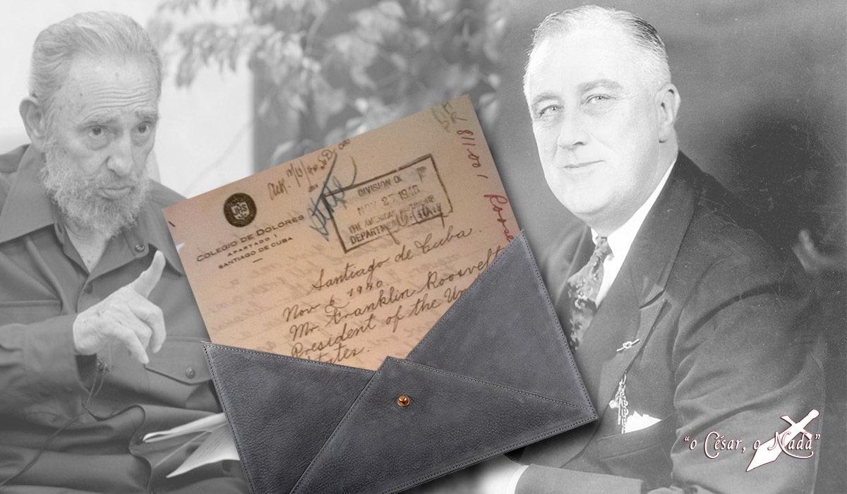 Carta de Fidel a Roosevelt - Curiosidades de la Historia