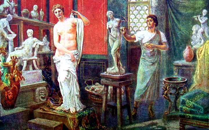 Venus de Milo original - Curiosidades de la Historia
