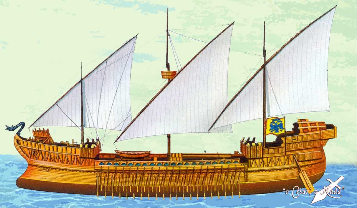 Dromon Bizantino - Curiossidades de la Historia