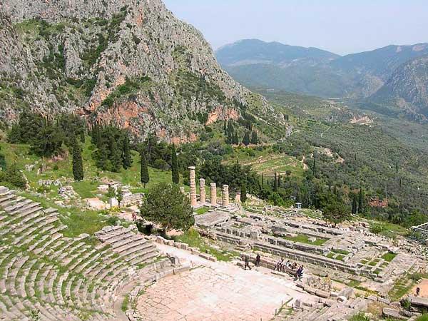 Oraculo de Delfos - Curiosidades de la Historia