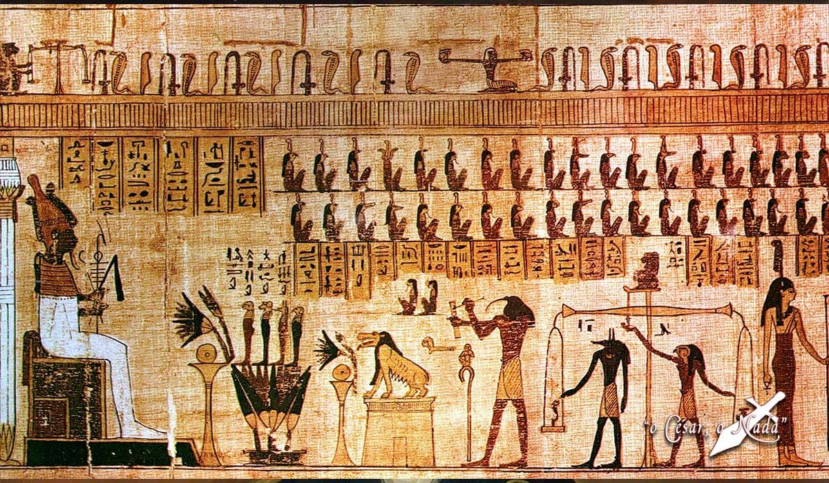 el libro de los muertos Curiosidades de la Historia