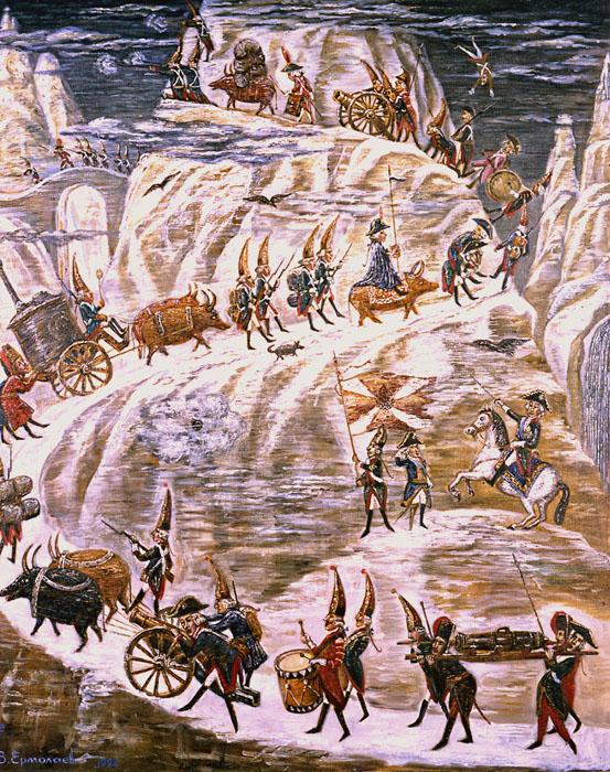 Aleksandr Suvórov Alpes Curiosidades de la Historia