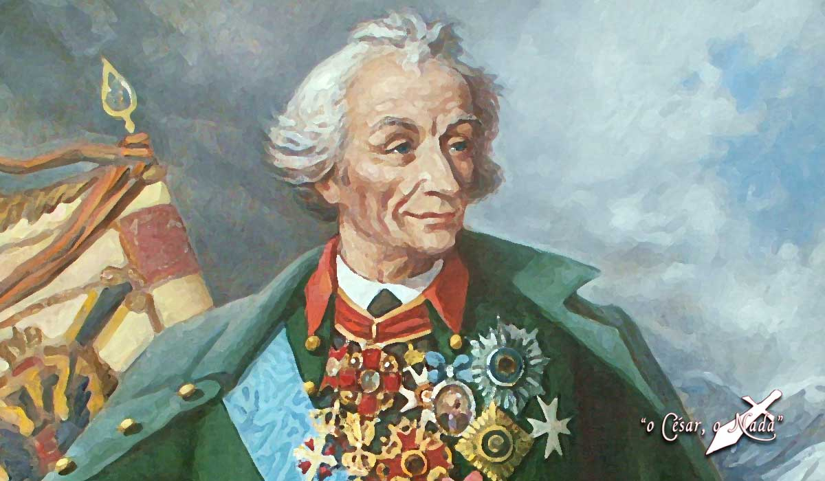 Aleksandr Suvórov Curiosidades de la Historia