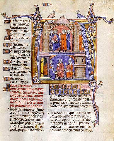 Primer manuscrito con la compilación de los Fueros de Aragón (s. XII)