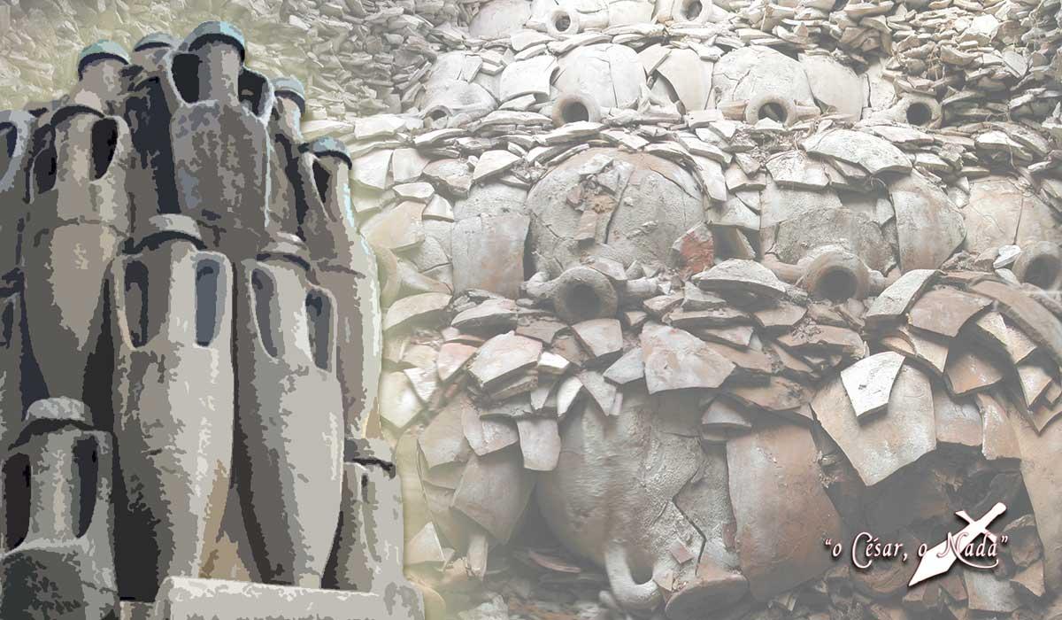 Monte Testaccio - Curiosidades de la historia