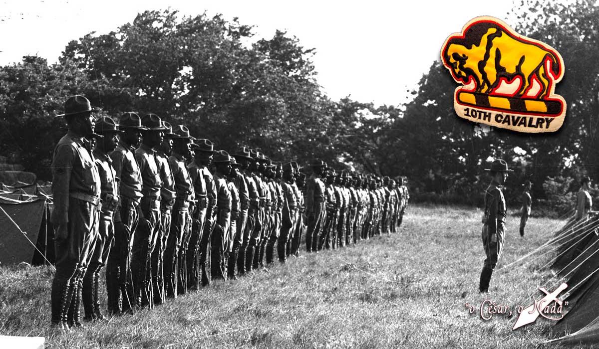 soldados bufalo