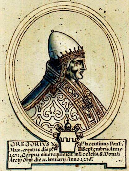 conclave de viterbo gregorio x