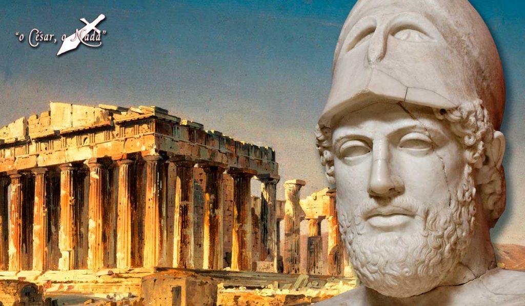 El casco de Pericles