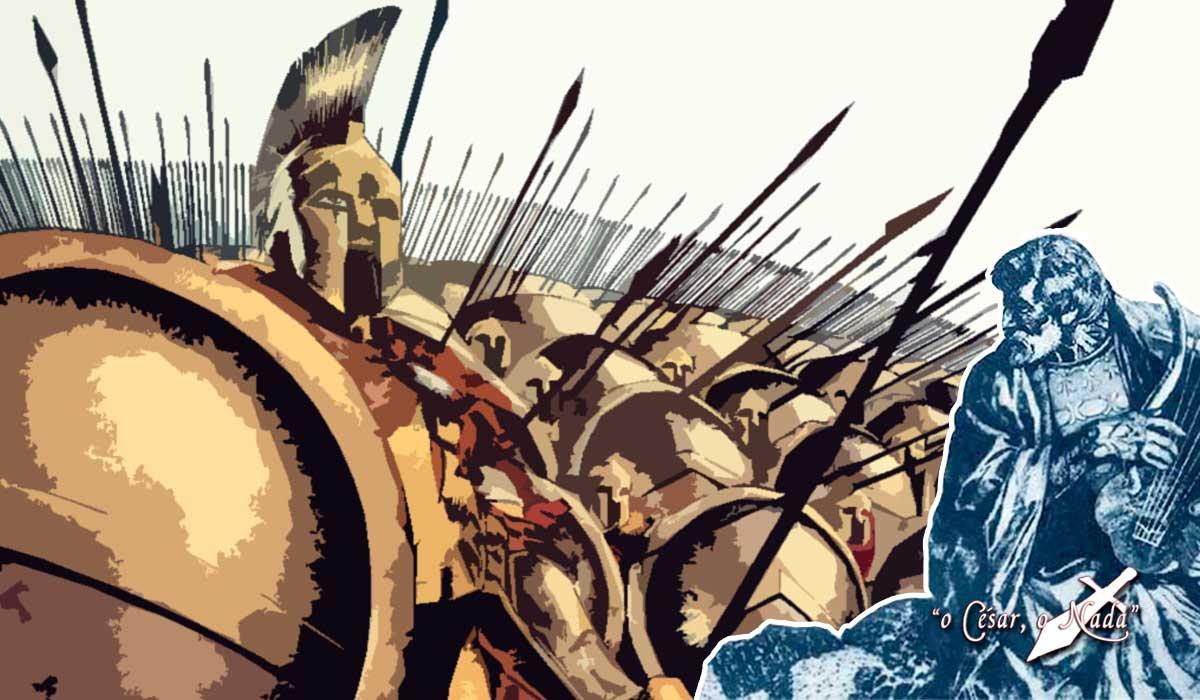 canto de guerra hoplitas griegos