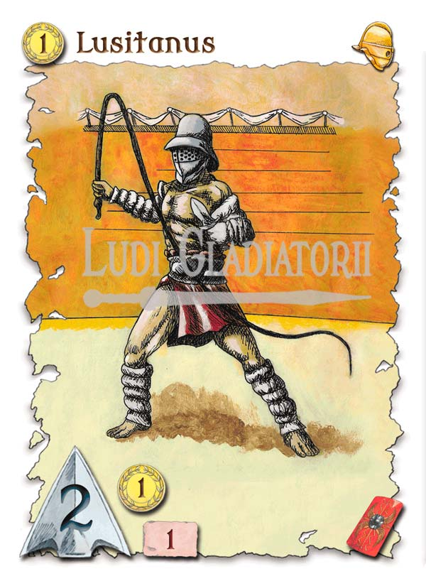 Ludi Gladiatorii juego de gladiadores